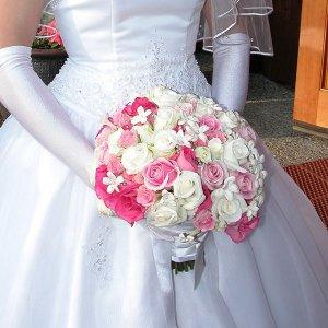 Свадебные букеты невест - фото